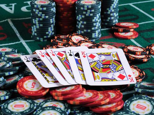 Las vegas Casino thema feest