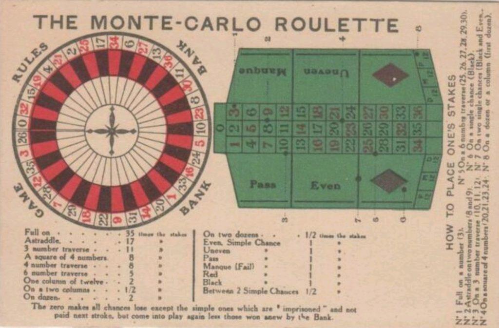 Monte Carlo Frans roulette huren